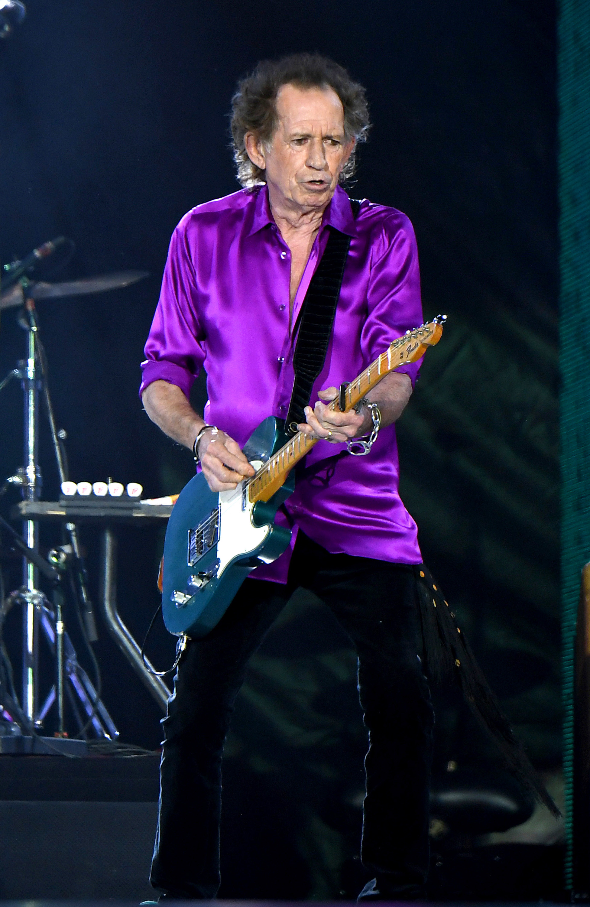 Keith Richard is still touring with The Rolling Stones this year