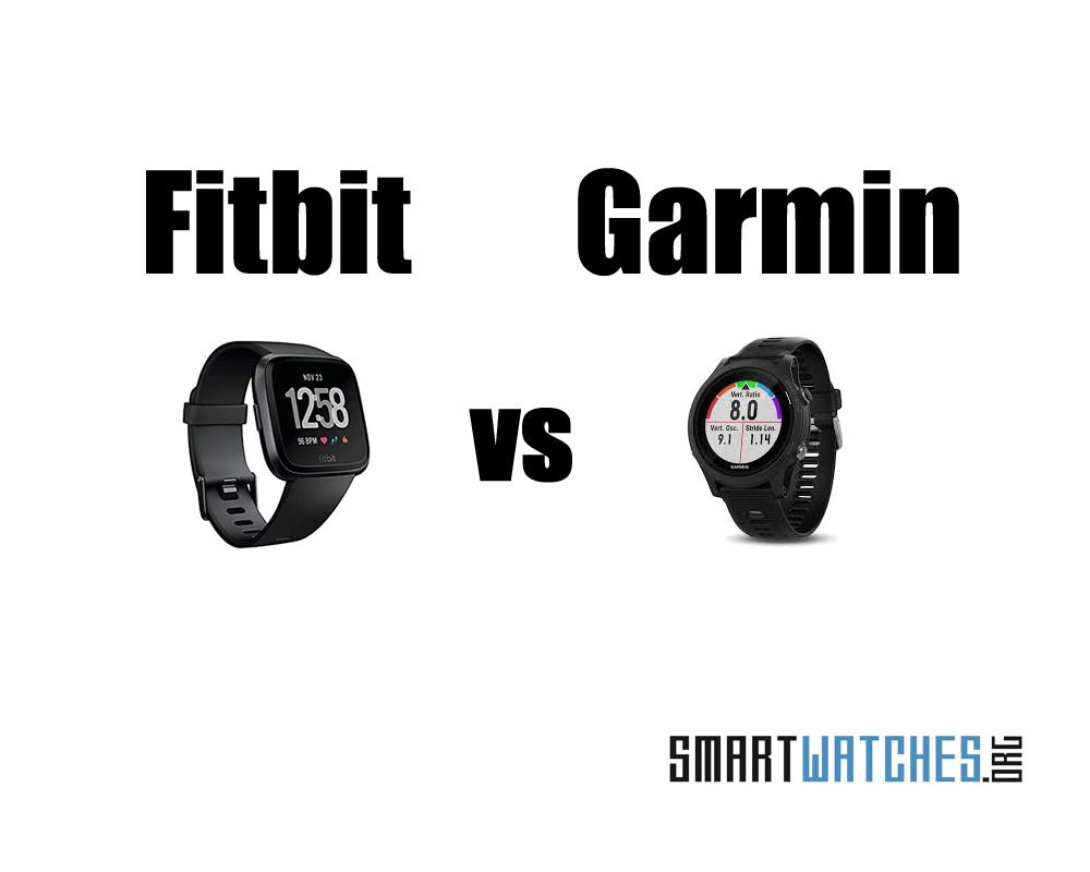 fitbit vs garmin hero