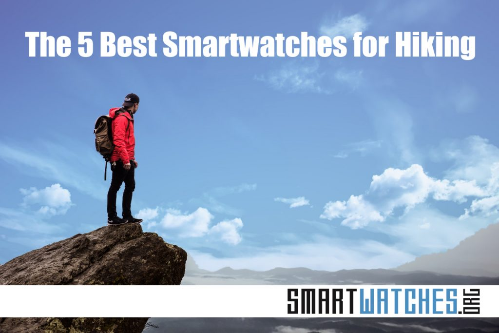 five best smartwatches for hiking hero