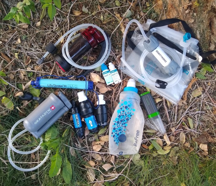The 10 backpacking water filters and purifiers we tested.