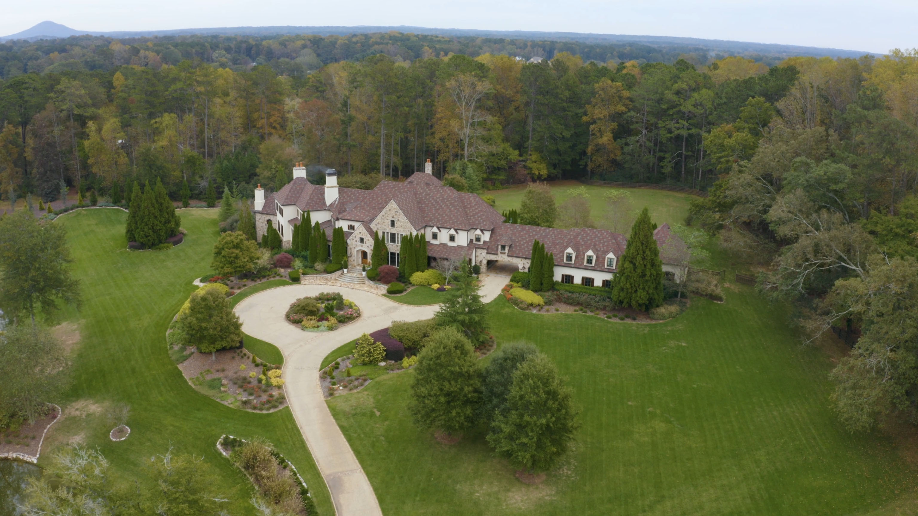 Dwayne 'The Rock' Johnson recently spent around £7m on a new home in Georgia