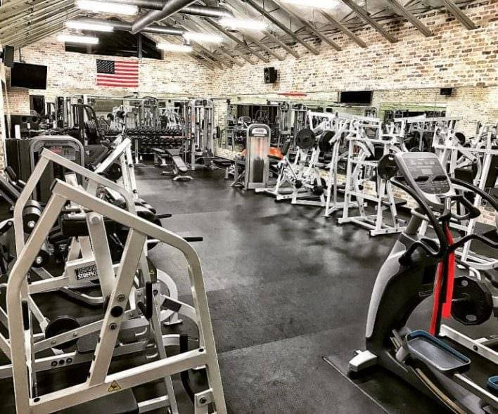 The Rock's Florida mansion has a state-of-the-art gym where the A-lister can workout