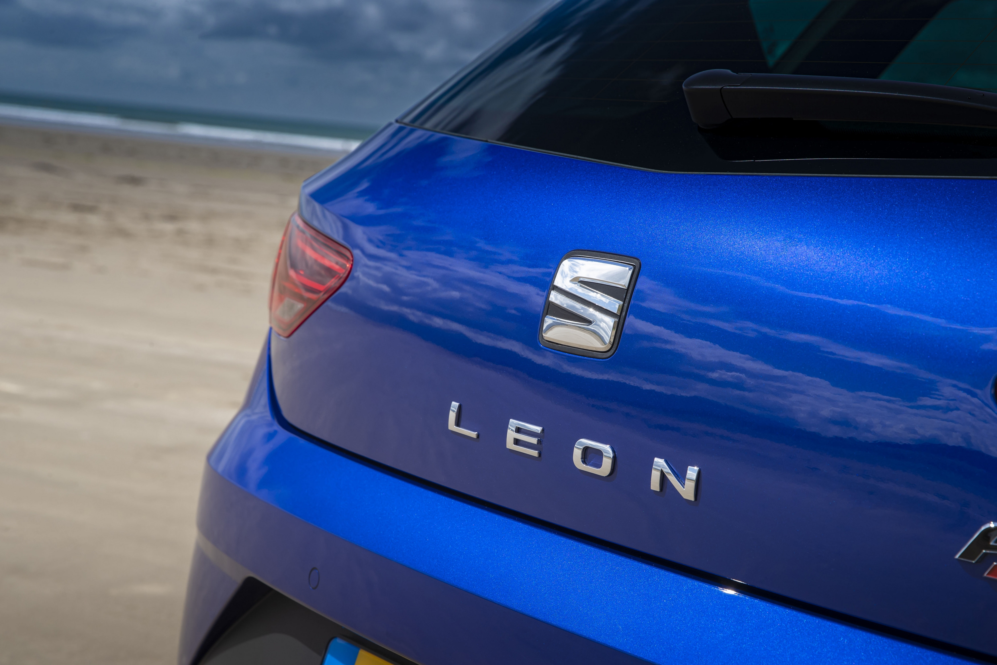 Seat Leon, on the road in autumn this year