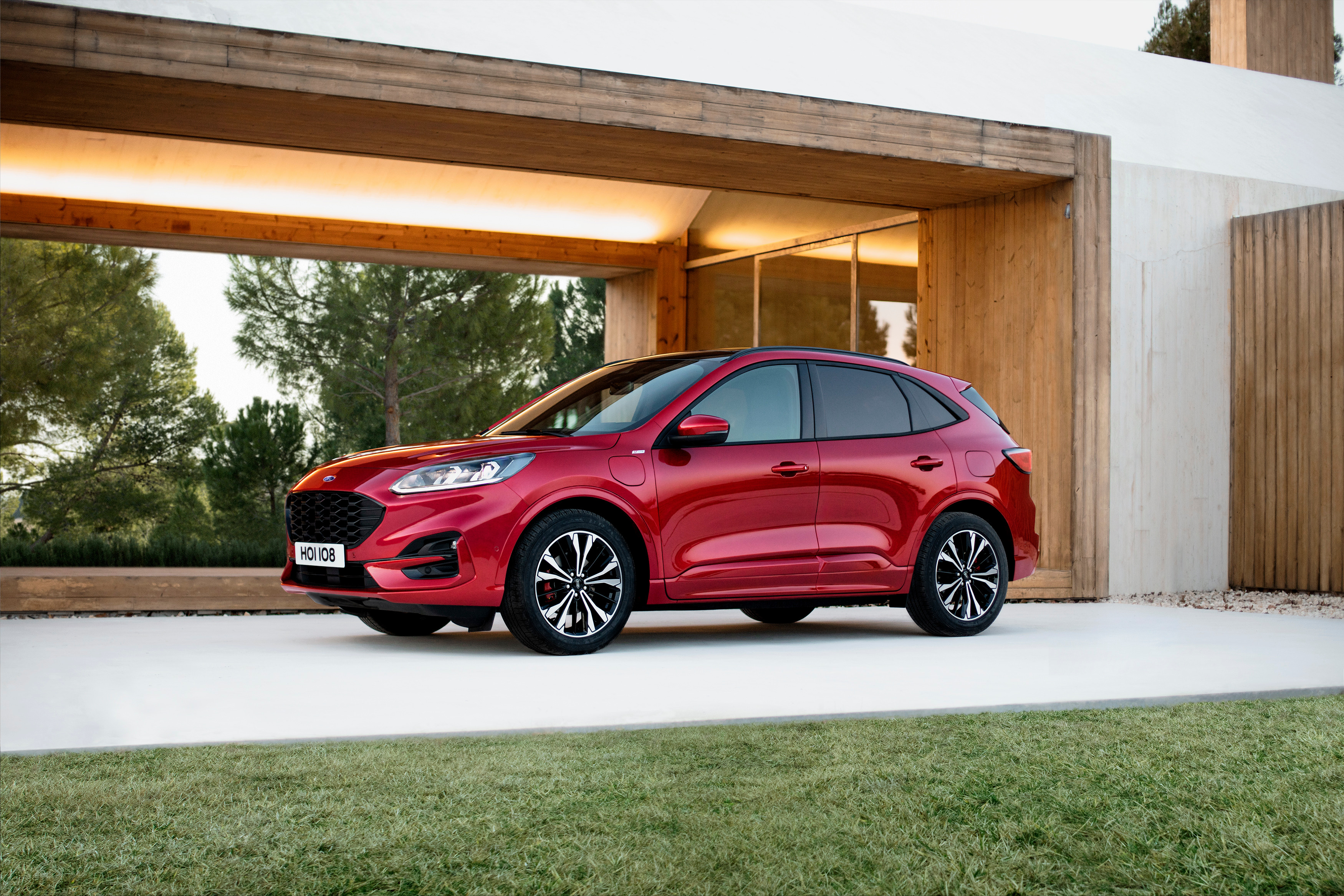 Ford Kuga, on the road early this year