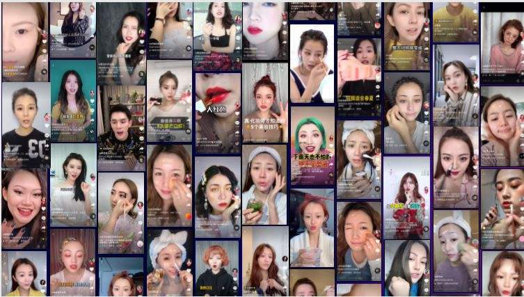 Tik Tok marketing for selling cosmetics in China