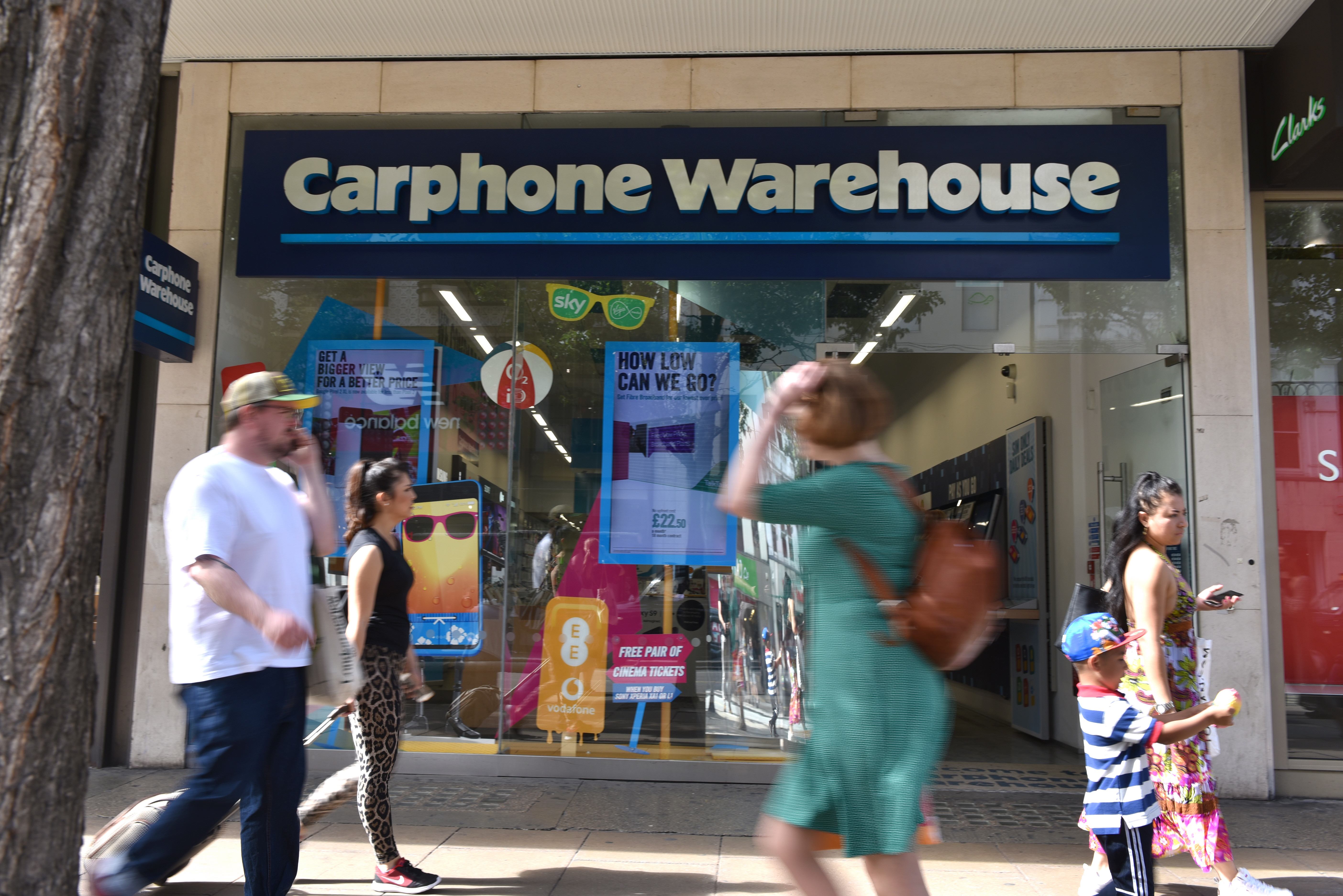 Carphone Warehouse issued a full refund and apology