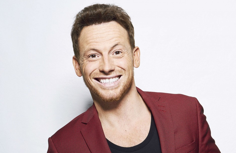 Joe Swash is putting on his skates for Dancing On Ice