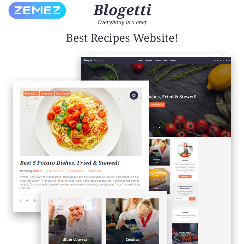 Blogetti GPL WordPress Theme