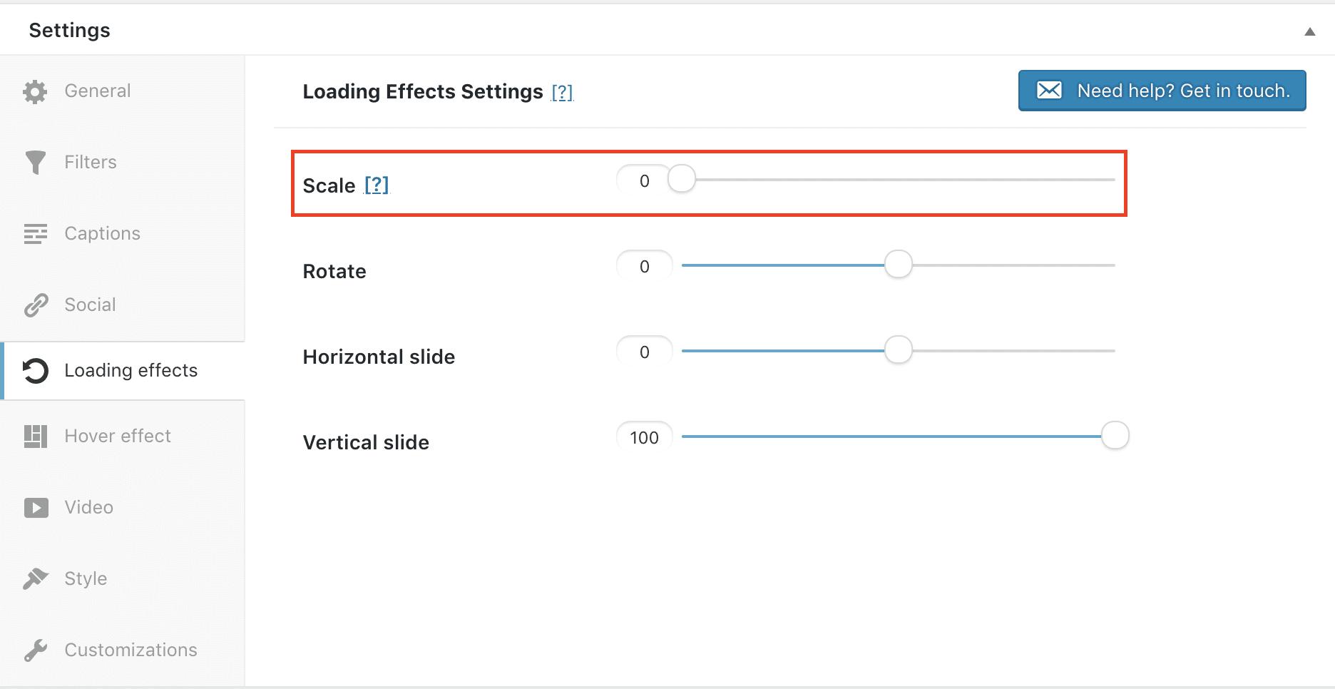 Modula loading effects