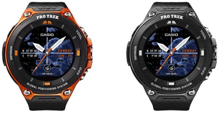 Casio Pro Trek WSD-F20 Smart Outdoor Watch with 50-meter Water Resistance