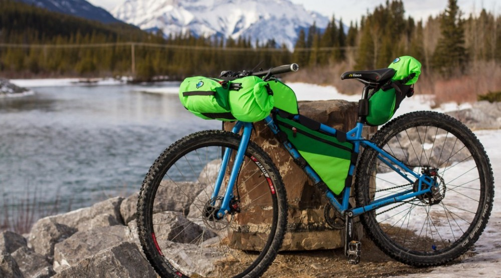 Porcelain Rocket BikePacking Bags