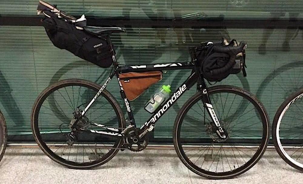 kravets bikepacking bags
