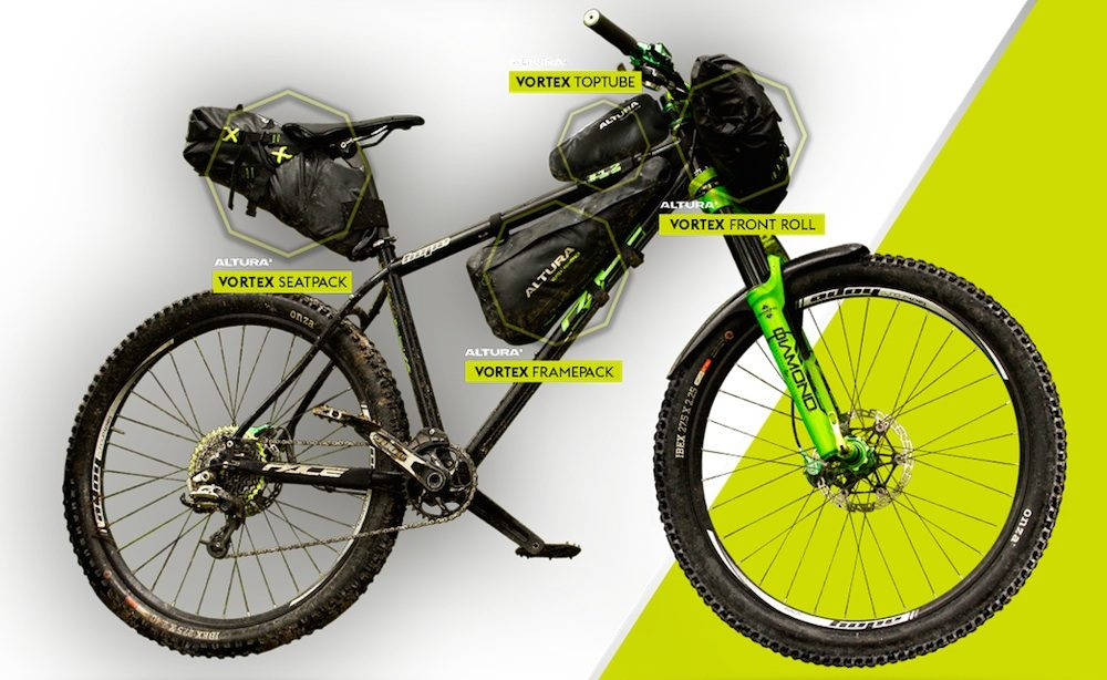 Altura Bikepacking Bags