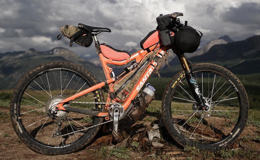 rockgeist bikepacking bags