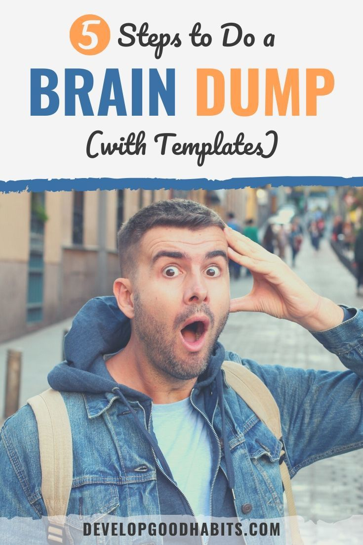 Learn what a brain dump is and how you can use this trick to increase your own productivity   brain dump   brain dump example   brain dump template #learning #brain #mind #focus