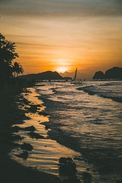 Sunset at Las Cabanas
