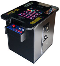 Professionally-Made Commercial Cocktail Arcade, 60 Classic Games