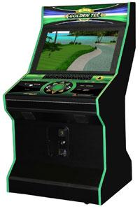 Golden Tee Golf Arcade Game - 32in. LCD Screen