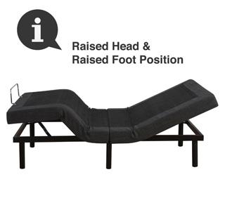 raised position