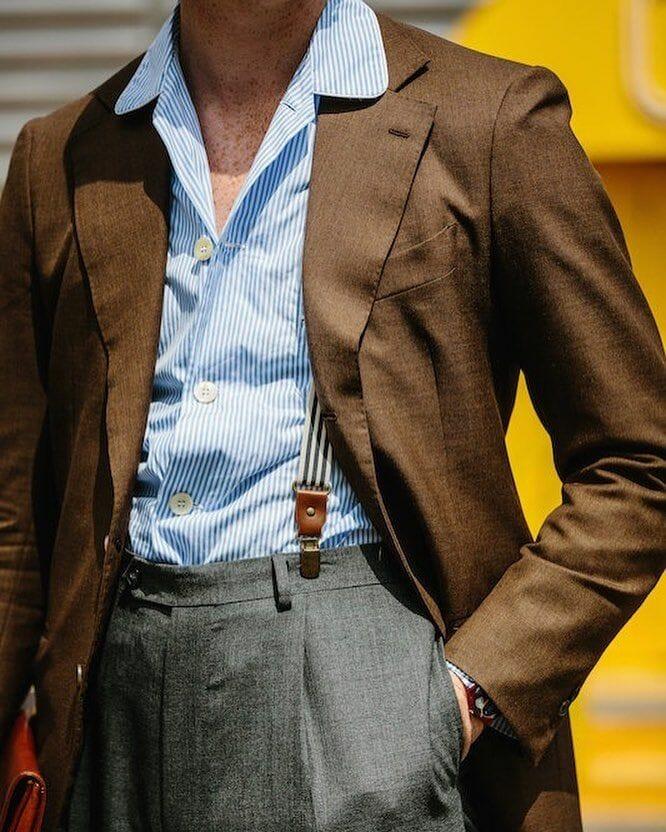 Pajama collar shirt with tailoring