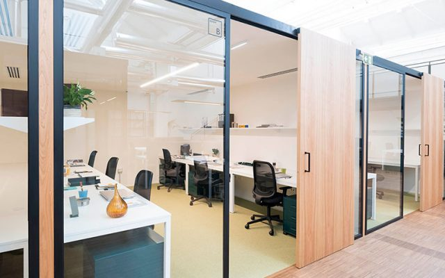 A private office at Tenoha | & Work