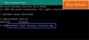 Install TWRP recovery on Android using Fastboot