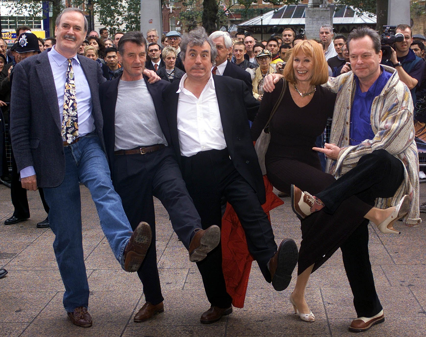 The actor made a name for himself alongside some of the members of the Monty Python comedy troupe