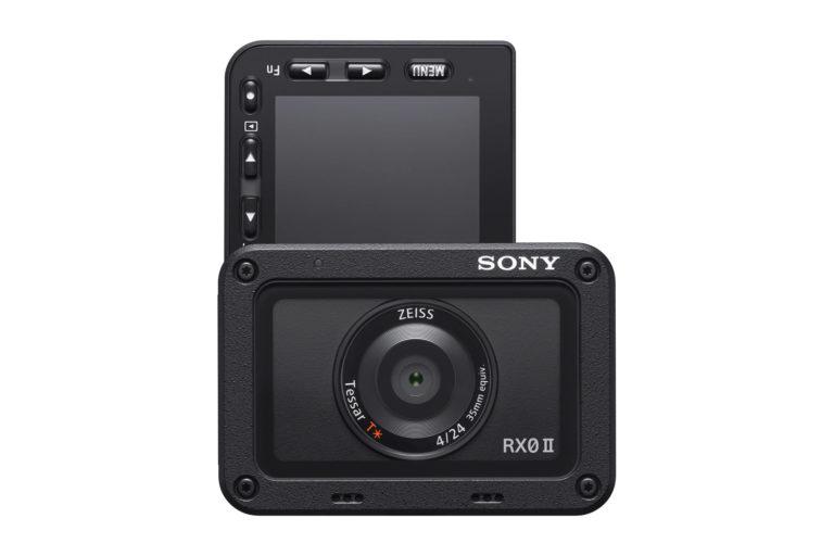 Sony RX0 II Rear LCD Flip Screen