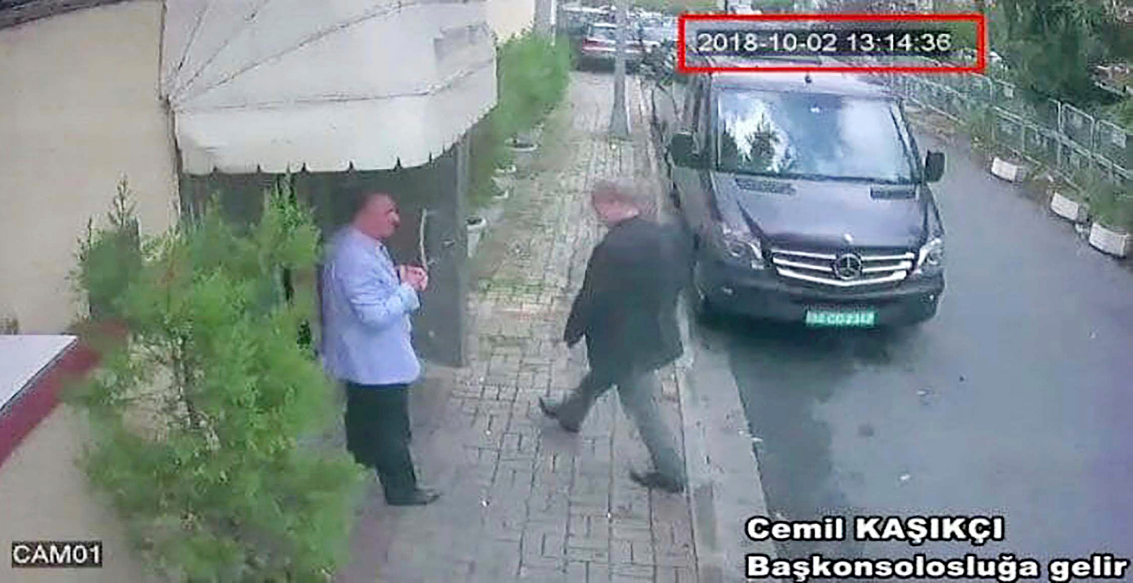 CCTV showed Saudi journalist Jamal Khashoggi entering the consulate in Turkey but he never came out