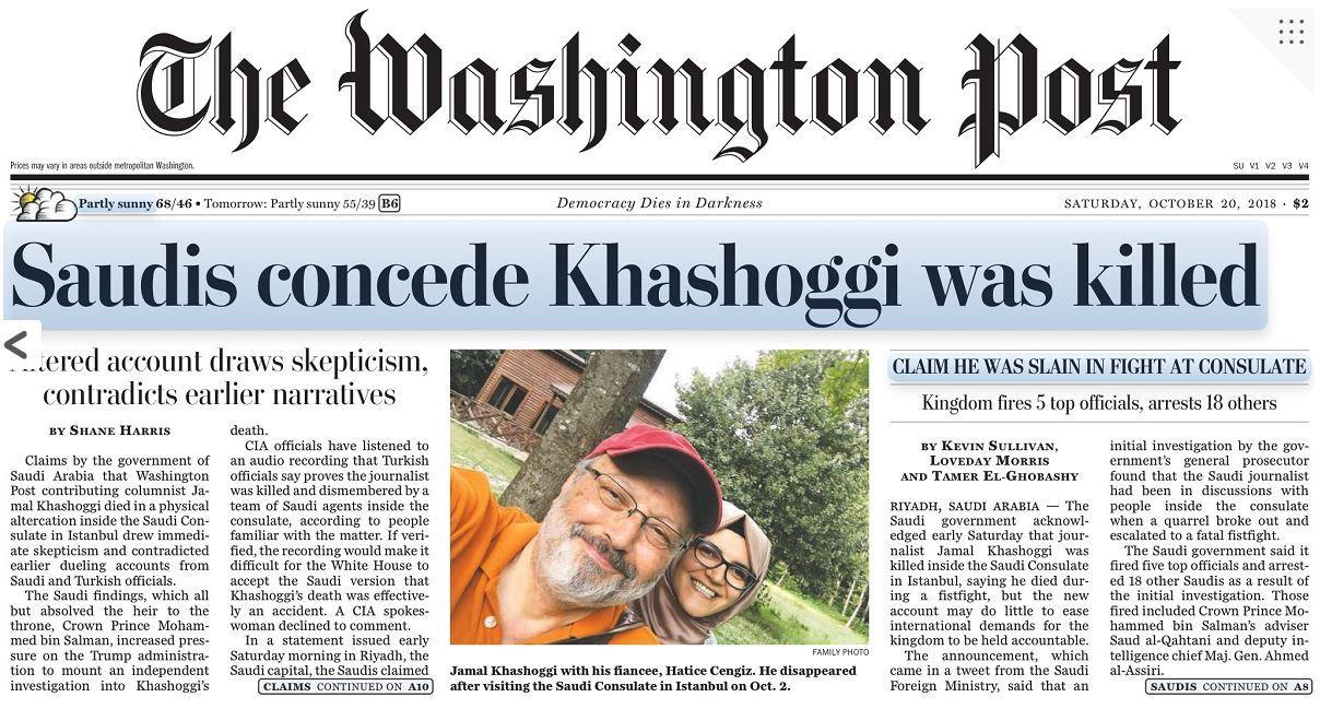 Mohammed Bin Salmam is said to have ordered the brutal killing of Washington Post writer Jamal Khashoggi