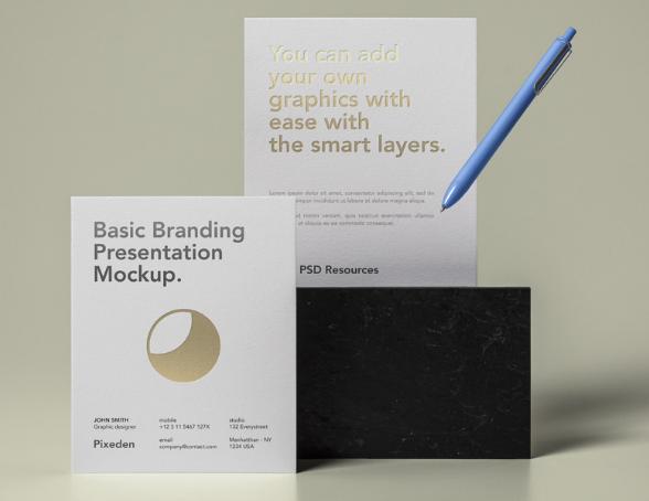 Basic Stationery Branding Vol 27