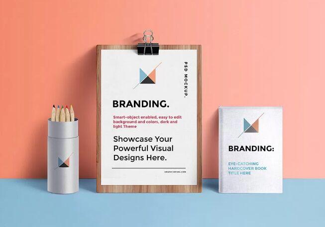 Branding Identity Mockup PSD