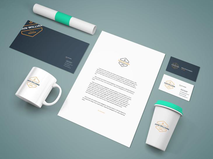 Branding Stationery Mockup Vol9