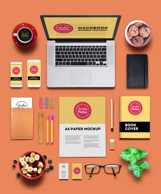 Free Branding And Identity Mockup