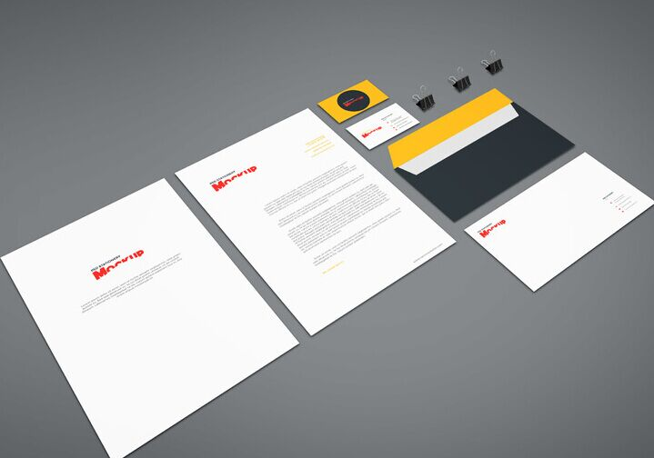 Branding Stationery Mockup Vol8