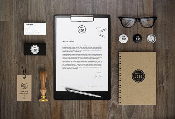 Branding Identity MockUp Vol 7