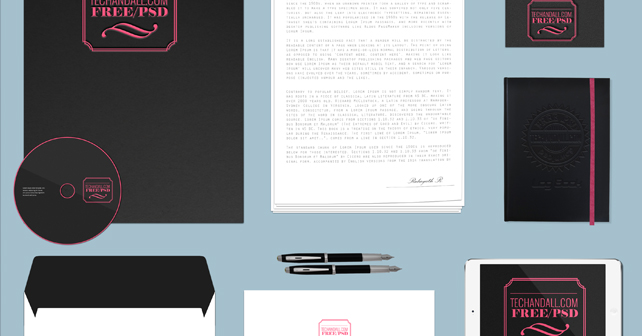Branding Identity Mockup Vol3 - Simple