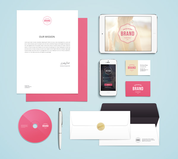 Branding Identity MockUp Vol.4