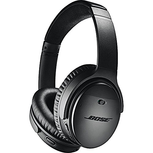 Bose QuietComfort 35 (Series II) Wireless Headphones, Noise Cancelling, with Alexa voice control - Black