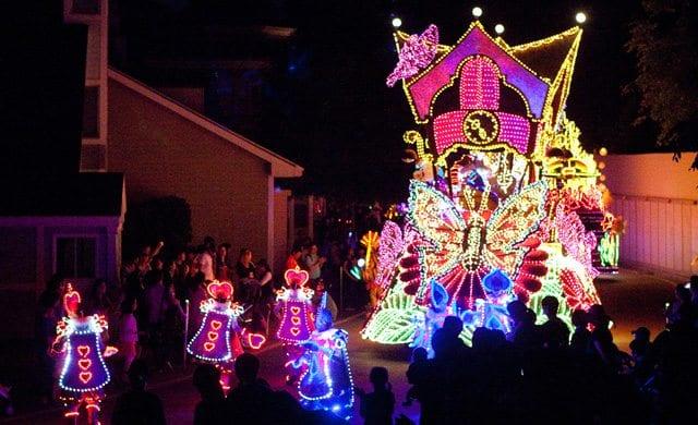winter activities in korea moonlight parade