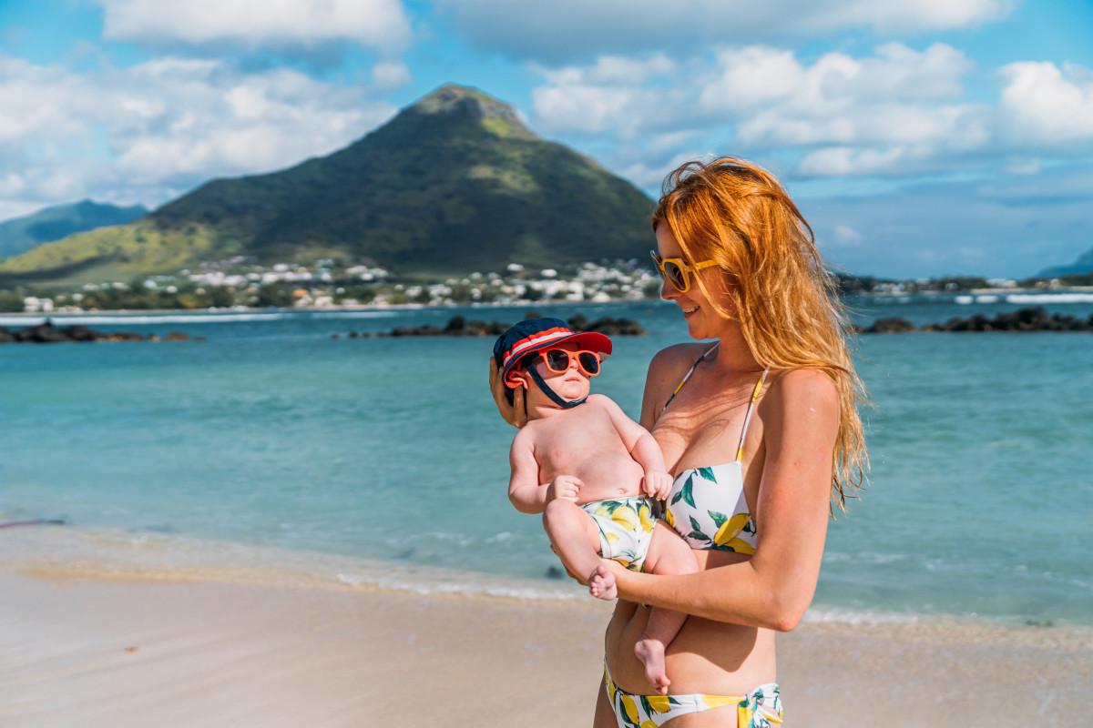 baby beach vacation