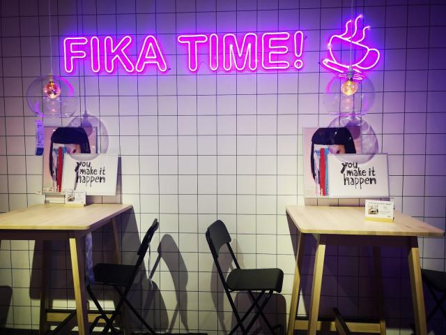 Pop-up store of IKEA