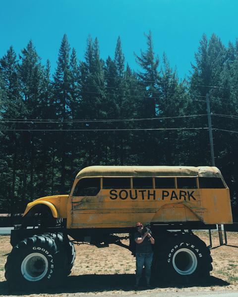 peg house south park bus