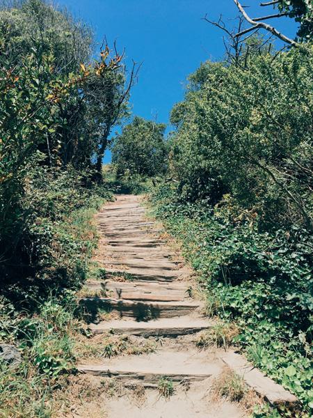 trinidad beach stairs