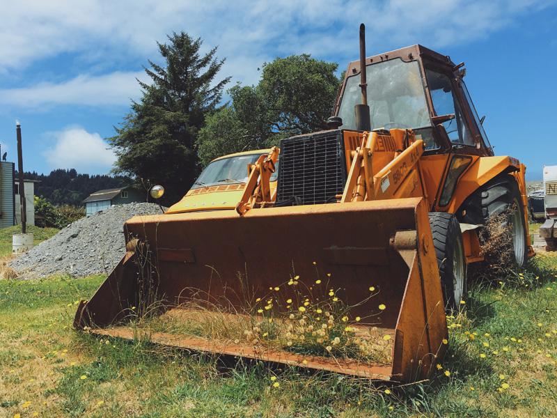 redwood national park snack shack flower tractor