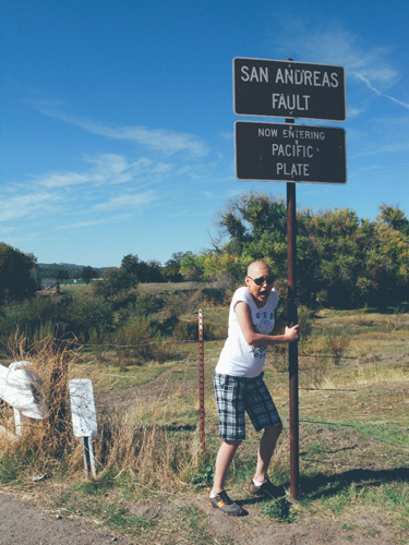 San Andreas Faultline, Parkfield
