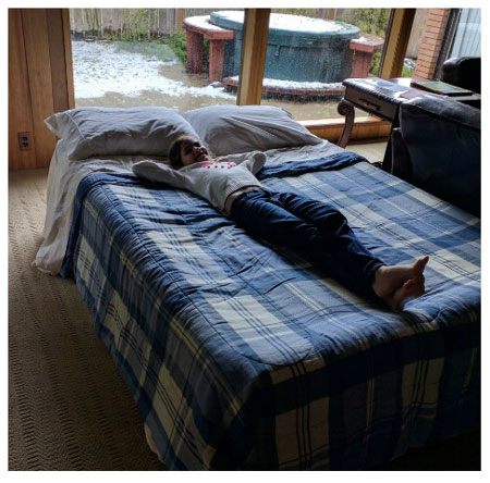 fully setup airbed comfort