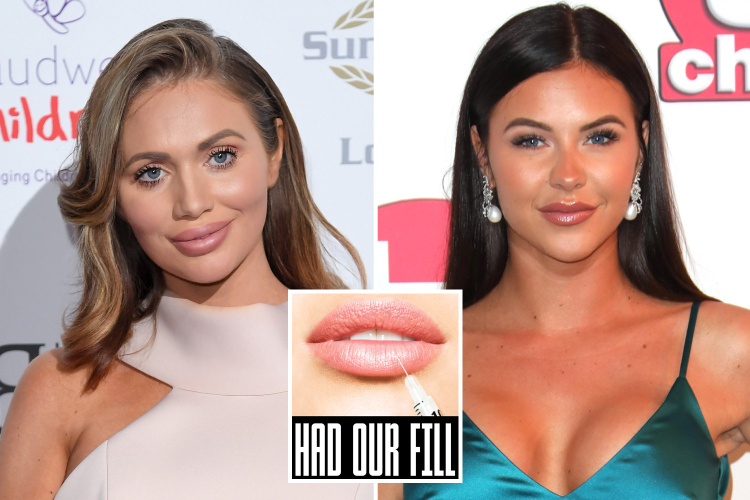 TOWIE stars Amy Childs and Shelby Tribble are backing the campaign to save others having to go through the same horrors as they did