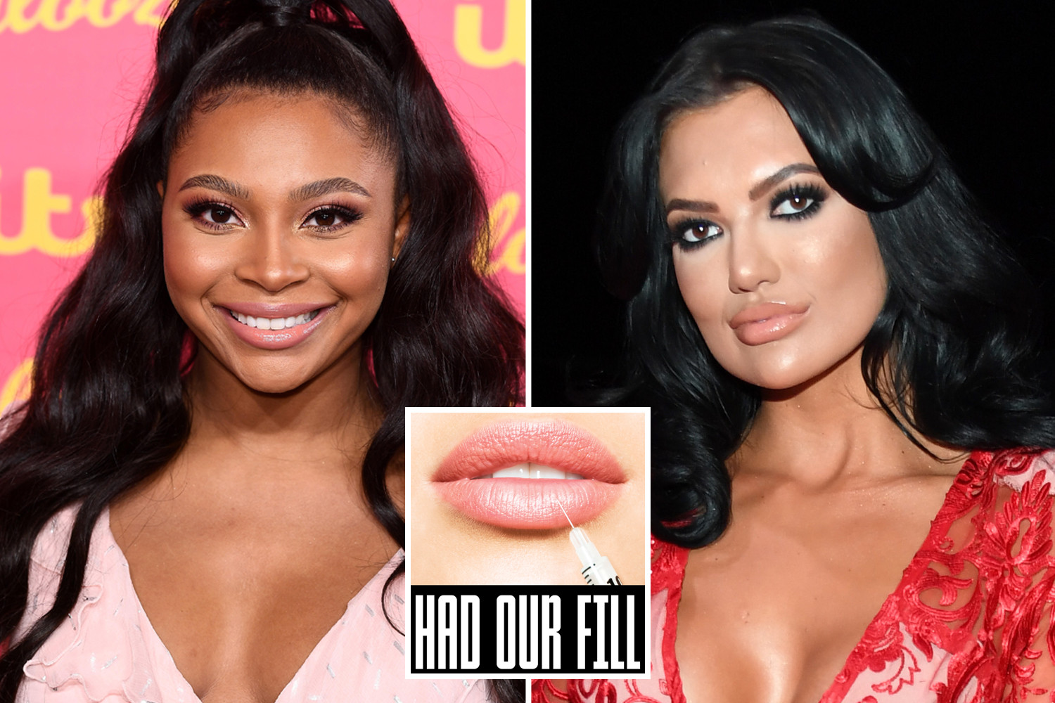 Love Island's Samira Mighty and Abbie Holborn from Geordie Shore are also in support of the campaign to raise awareness of the dangers of filler