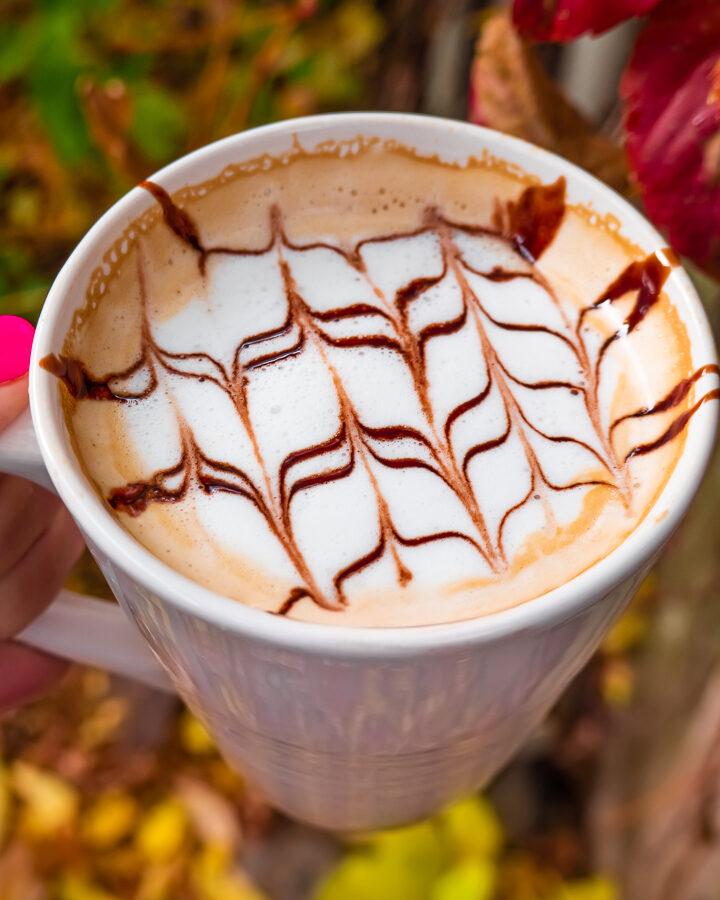 Easy Latte Art Hack